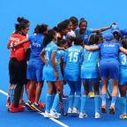 Olympics-Hockey-Netherlands women join India, Argentina in semis