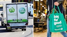 Woolworths' ground-breaking new service that delivers groceries in under two hours