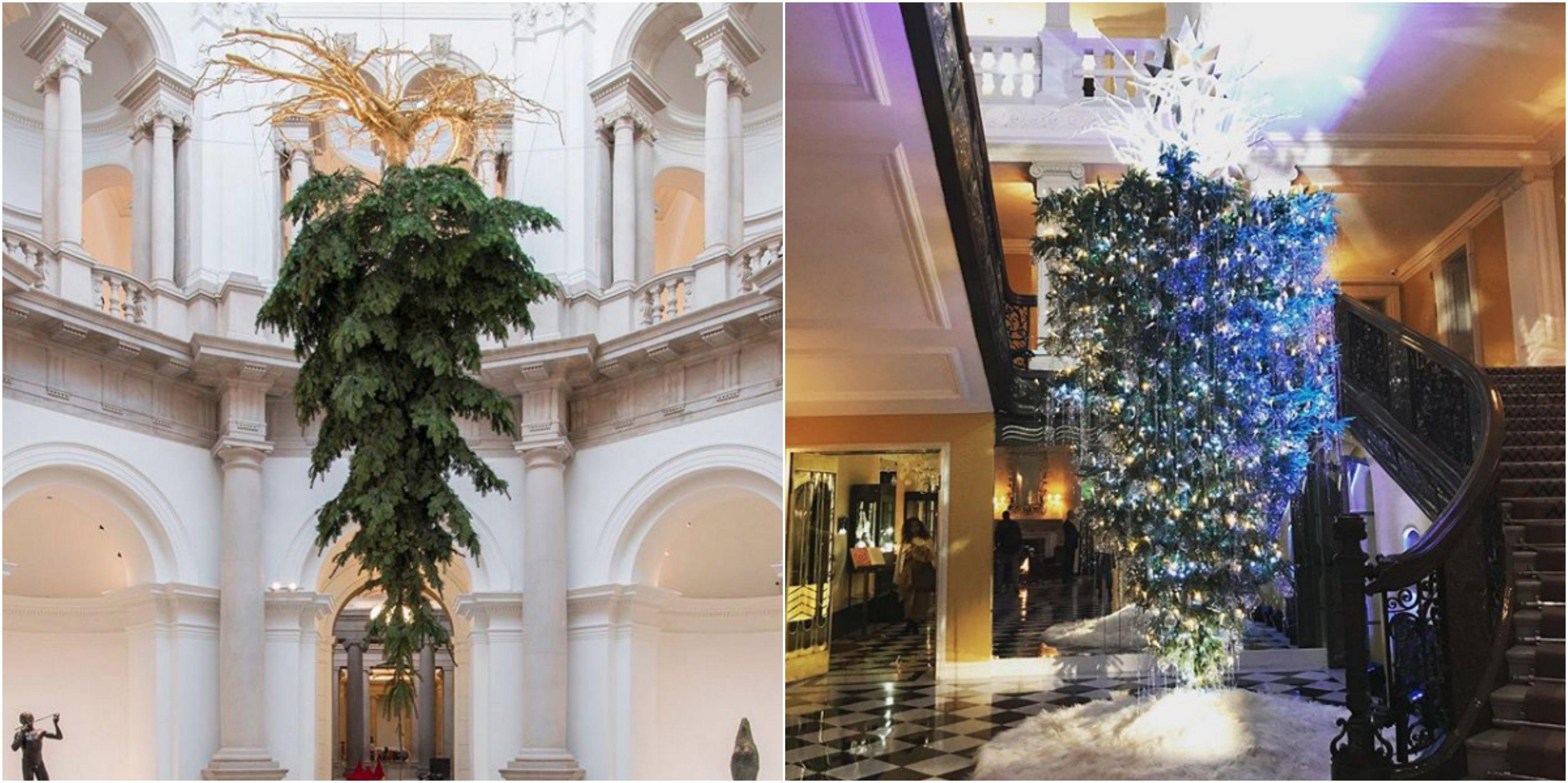 Why Upside Down Christmas Trees Are The New Trend