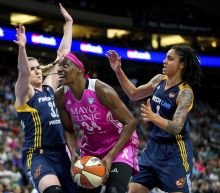The Minnesota Lynx scored 37 straight points in a WNBA game, which is a lot, and a record