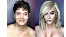 The 'Many Faced God' of makeup transformations