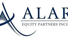 Alaris Equity Partners Income Trust Reminds Shareholders of the Trading of Trust Units