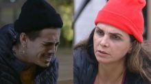 Biel diz que tem nojo de Luiza e cogita deixar 'A Fazenda' se ela voltar da roça
