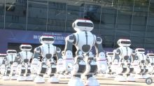 Watch 1,069 dancing robots set a new Guinness World Record