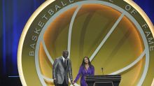 Vanessa Bryant delivers moving speech as Kobe is inducted into Hall of Fame
