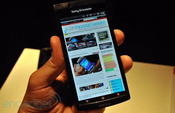 Sony Ericsson Xperia Arc preview (video)