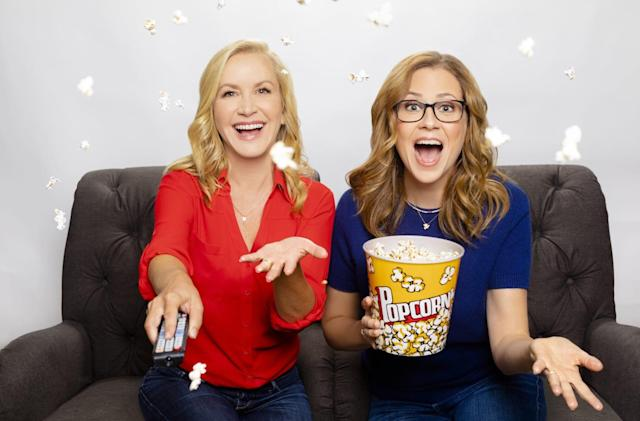 Jenna Fisher and Angela Kinsey are making a podcast about 'The Office'
