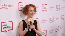 Kathy Griffin drops surprise video of her New Year's wedding that Lily Tomlin officiated