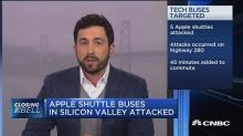 Apple, Google shuttle buses in Silicon Valley attacked