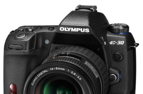 Olympus fills the E-520/E-3 gap with the E-30 DSLR
