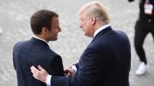 Macron appelle Trump à exempter l'UE des taxes sur les importations d'acier et d'aluminium