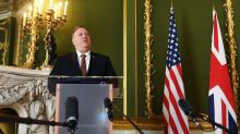 Pompeo meets Hong Kong's last governor Chris Patten and activist Nathan Law in London