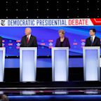 A 'purity test'? Democratic candidates clash over guns in feisty debate