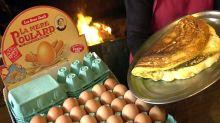 Comment est née l'omelette de la Mère Poulard ?