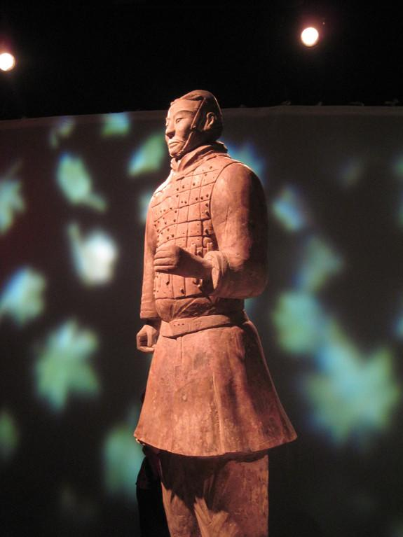 Even though they number in the thousands, each terracotta soldier has painstakingly detailed armor, facial features, hair and clothing.