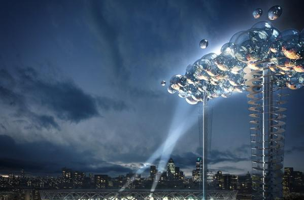 Digital 'Cloud' could form over London for the 2012 Olympics