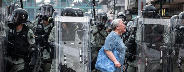 日媒:北京將派200至300名武警以觀察員名義駐港