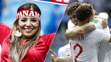 England v Panama: The match in pictures