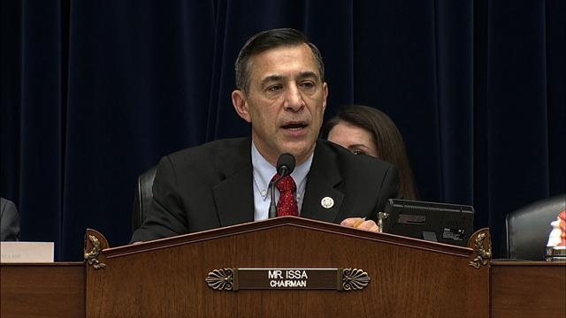 Rep. Issa: IRS employees effectively