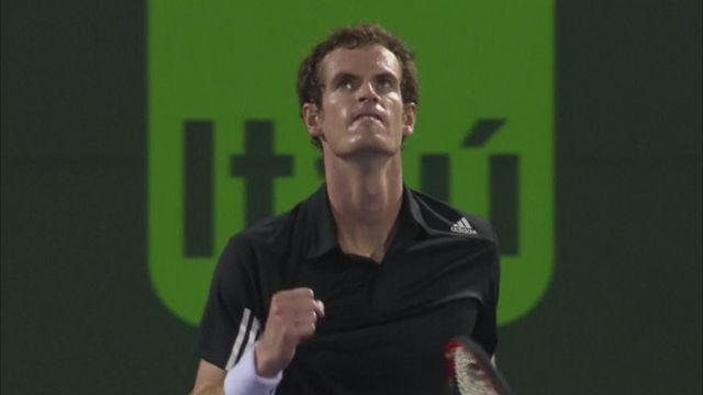 Murray survives scare in first match post-Lendl