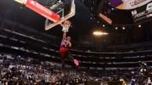 Jazz's Donovan Mitchell tops Cavs' Larry Nance Jr. to win 2018 Verizon Slam Dunk