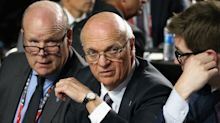 Why would the Maple Leafs kick Lou Lamoriello to the curb now?