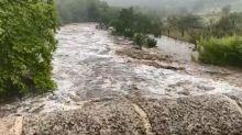 VIDEOS. Les Cévennes touchées par des crues impressionnantes après de violents orages