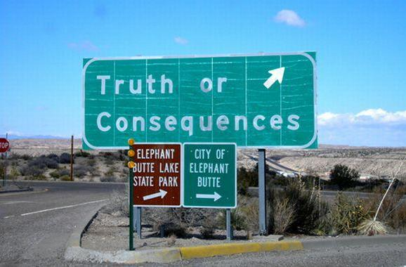 The Daily Grind: Truth or Consequences