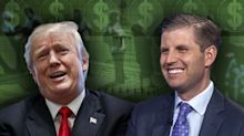 Eric Trump: 'My father sees one color — green'