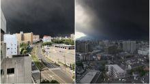 【有片】末日氣氛 日本鹿兒島櫻島火山噴發