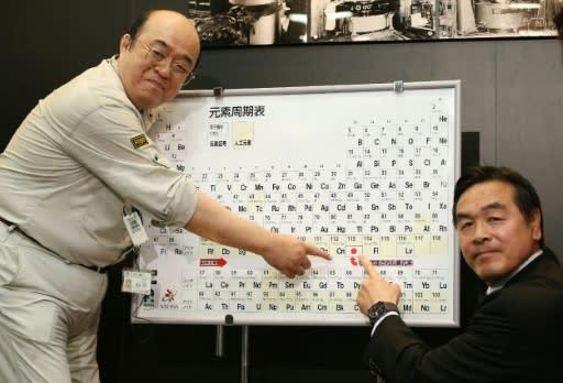 El nihonio y el moscovio entran en la tabla peridica kosuke morita i del instituto riken que descubri junto a otros colegas el elemento urtaz Image collections