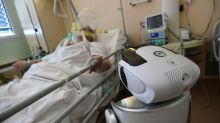 Italy's doctors look for help from sleek new robots