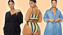 PrettyLittleThing is being praised for their plus-size collection