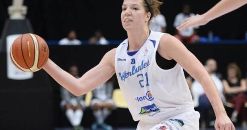 Basket - LFB - LFB : Katherine Plouffe élue meilleure joueuse étrangère de la saison