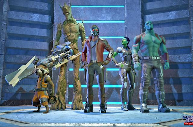 Telltale's 'Guardians of the Galaxy' game premieres this spring