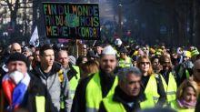 Gilets jaunes: mobilisation en baisse pour ce premier rassemblement dominical