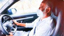 Rajinikanth Drove A Lamborghini To His Farmhouse In Kelambakkam!
