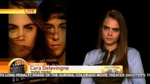 Cara Delevingne's Super Awkward Interview
