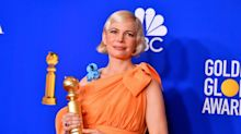 Michelle Williams called an 'icon' after powerful speech about women's rights at Golden Globes