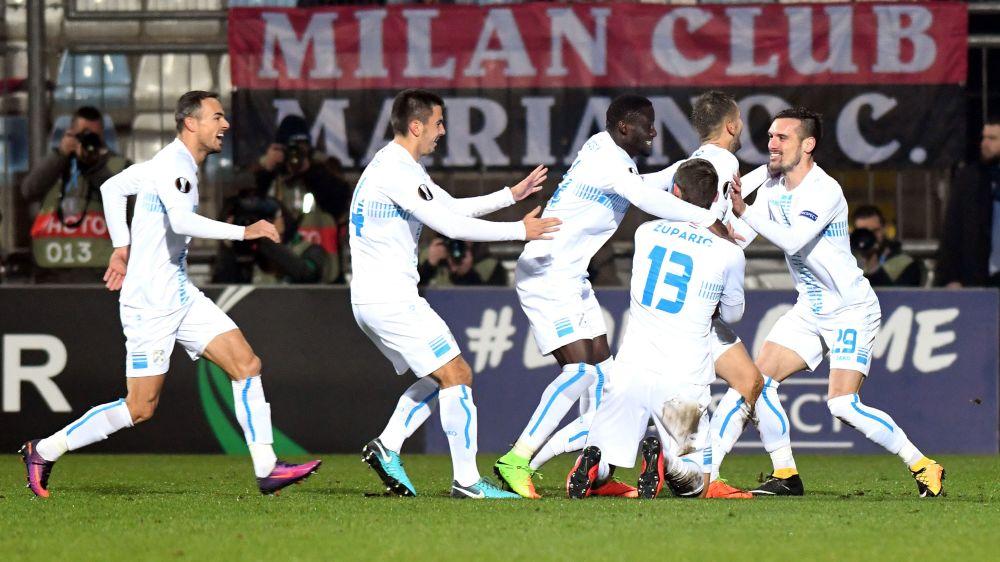 Rijeka-Milan 2-0: prima da incubo in Europa per Gattuso