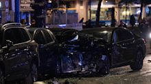 Zwei Autos kollidieren in Berliner Innenstadt