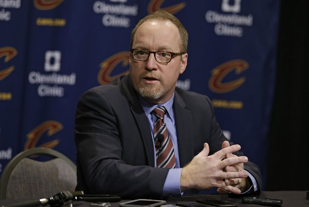 David Griffin is one of the architects of the Cavaliers' NBA championship roster. (AP)