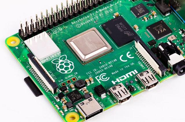 The $35 Raspberry Pi 4 now comes with double the RAM