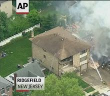 Explosion levels NJ home, no serious injuries
