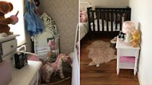 Sinister detail behind these innocent photos of children's bedroom