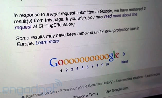 Artist gets Google results removed to 'highlight' his new work