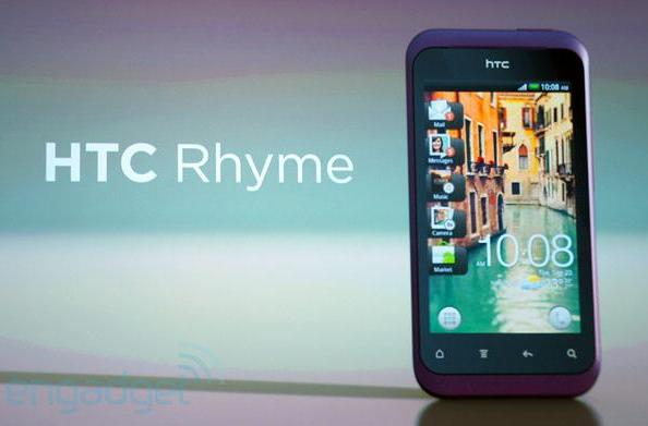 HTC Rhyme clicks its heels, calls O2 its exclusive UK home
