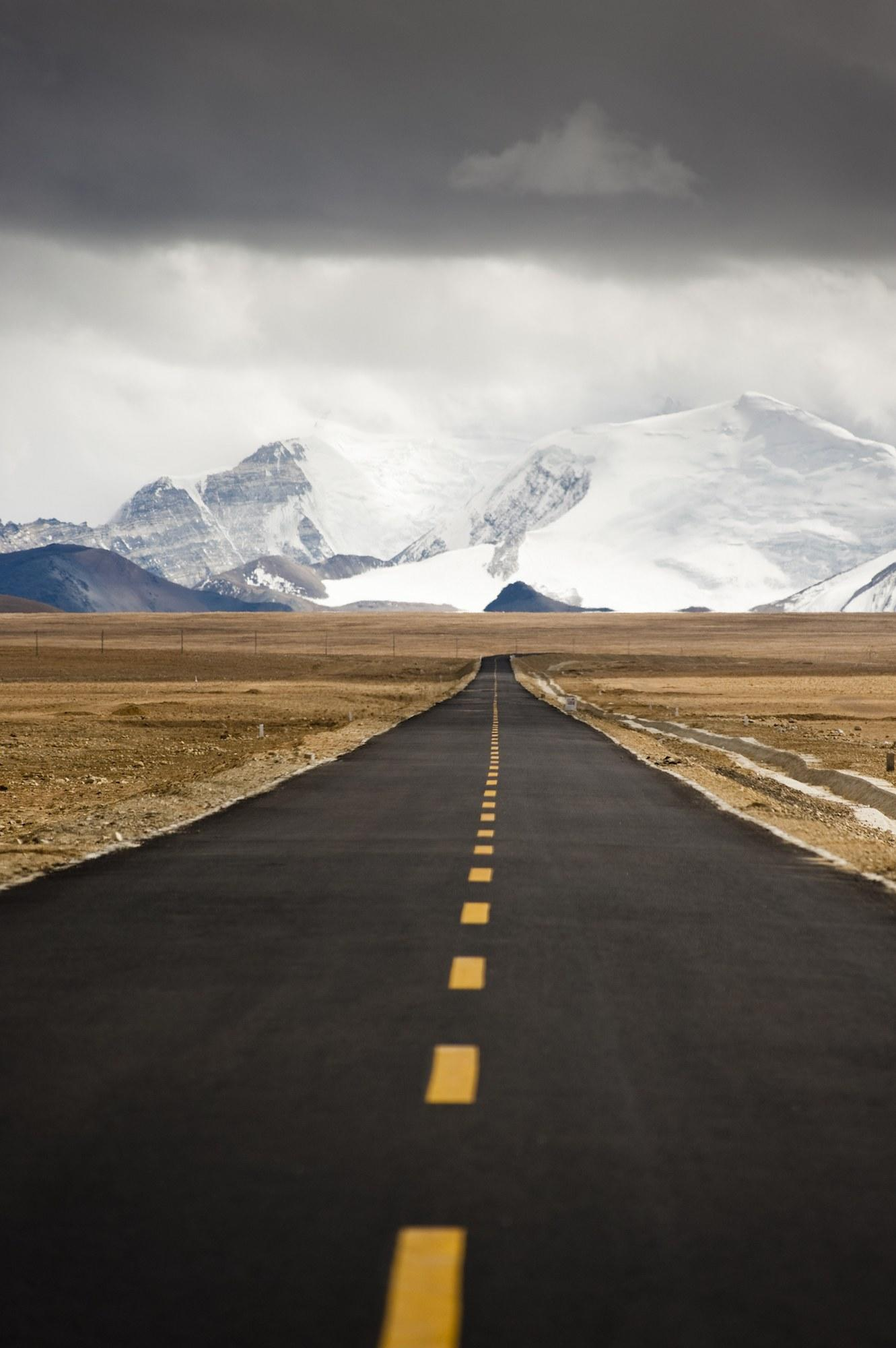 Located in China and passing through the Tibetan city of Lhasa and the Nepalese border is the <strong>Friendship Highway</strong>. At times, the route can reach 16,400 feet, which, on clear days, allows for views of Mount Everest in the far distance.