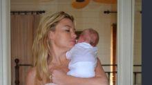 Tracy Anderson Shares Reality of Breastfeeding in Candid Throwback Photo