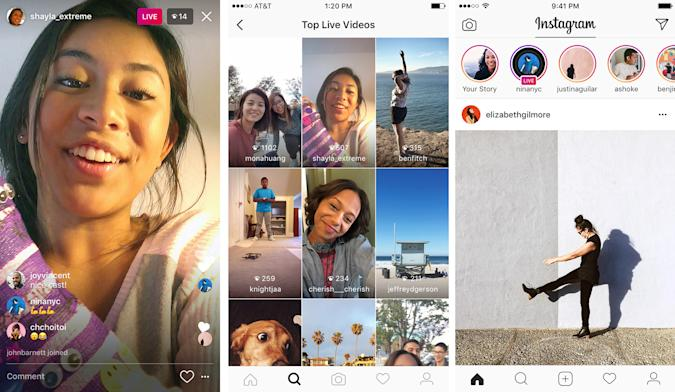 Instagram Live brings streaming to your Stories today
